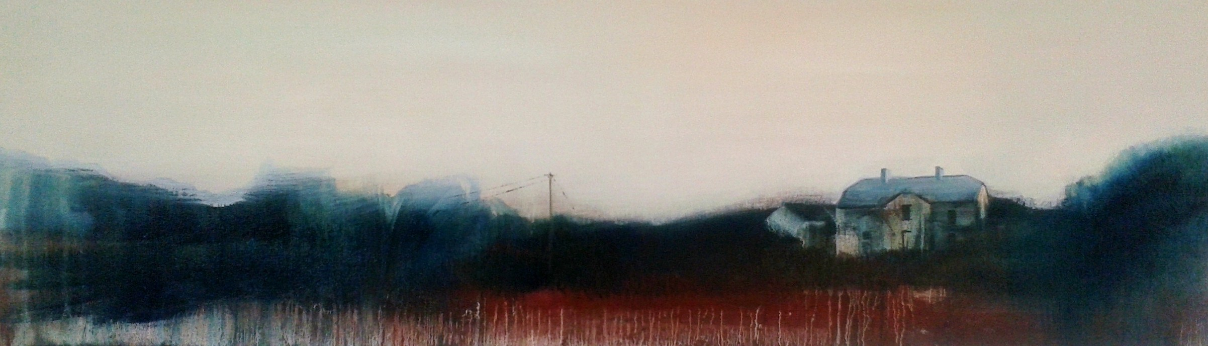 Emma Stroude Elsewhere 30cm x 100cm 2015