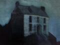 Emma Stroude, The Eve of the Flood, Oil on Canvas, 30cm x 40cm, 2015