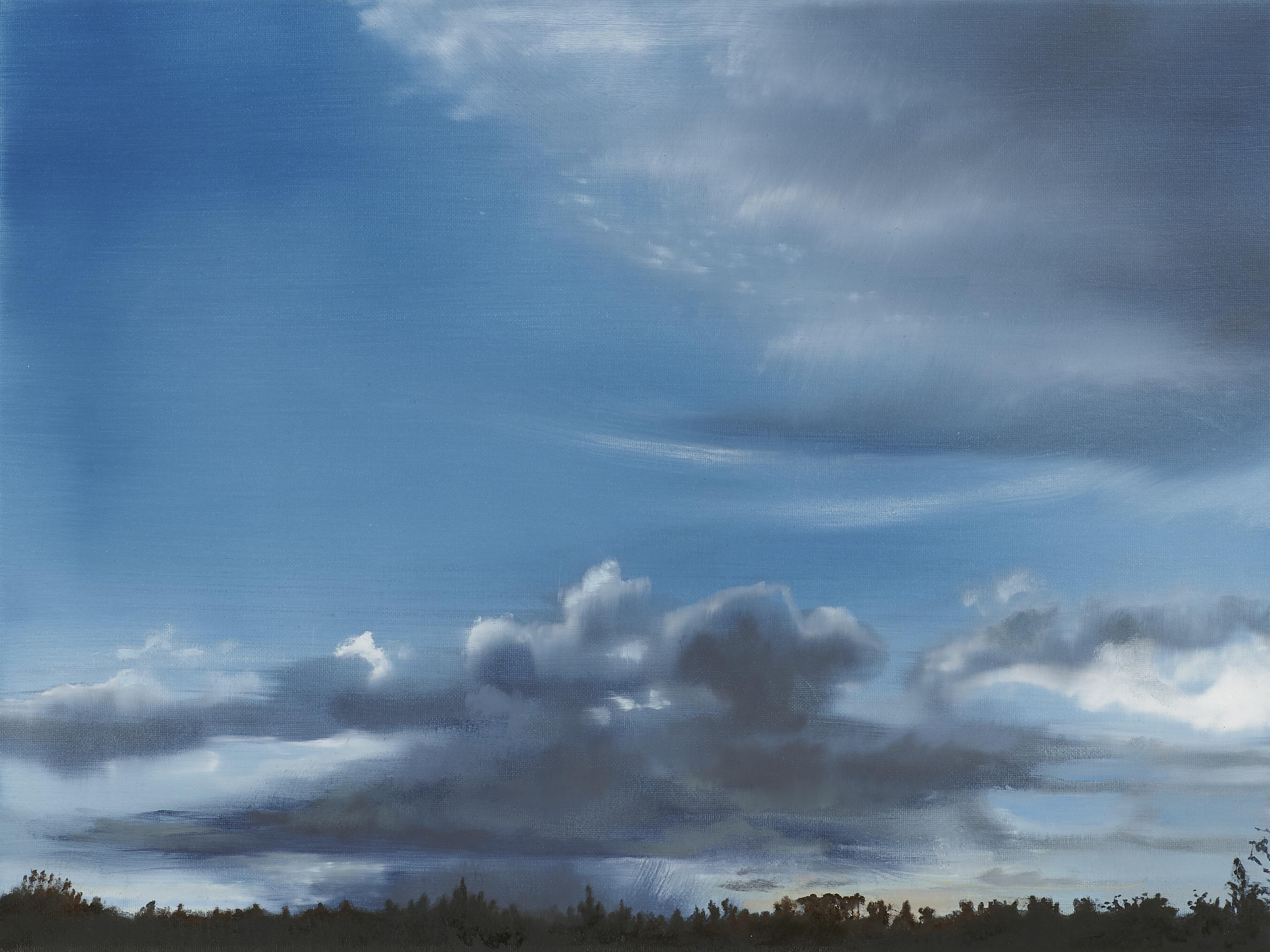 Strange Fiction, Oil on Canvas, 30cm x 40cm (Photography Dickon Whitehead)