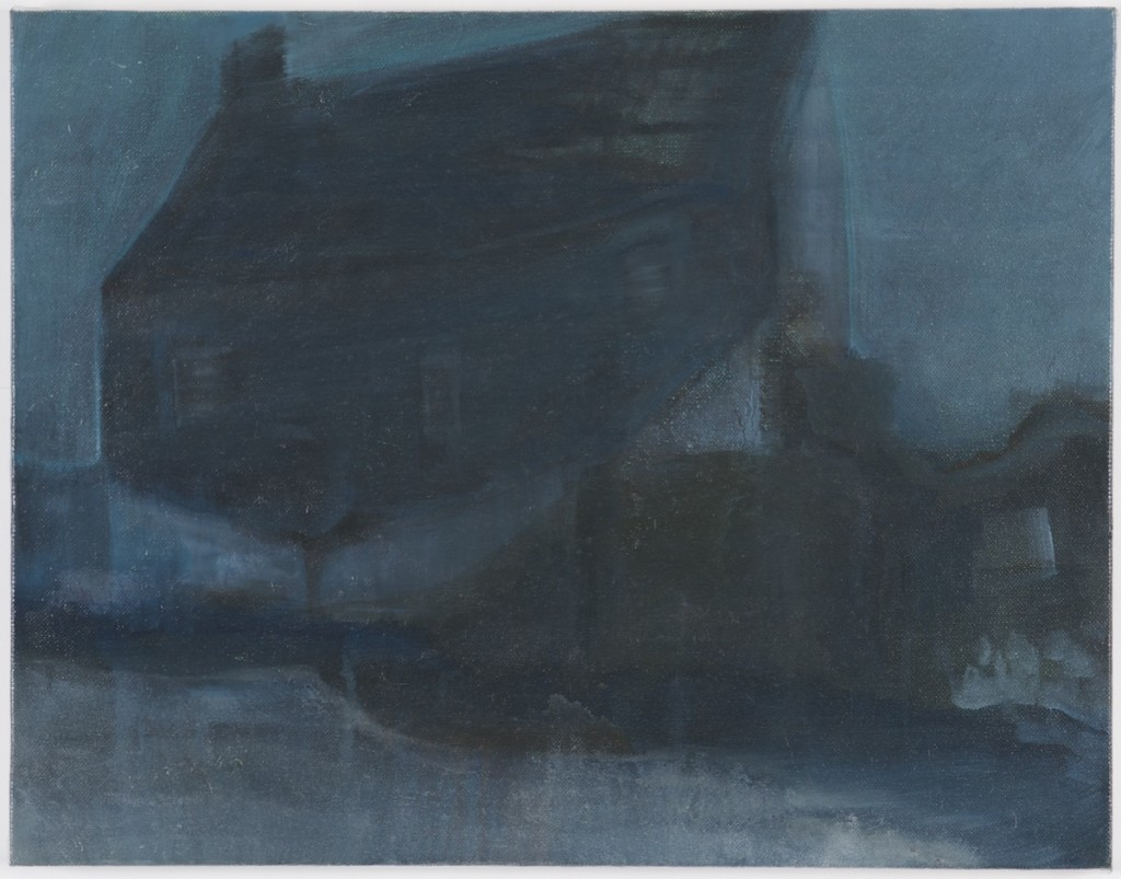 The Flood House, Oil on Canvas, 35cm x 45cm, 2015