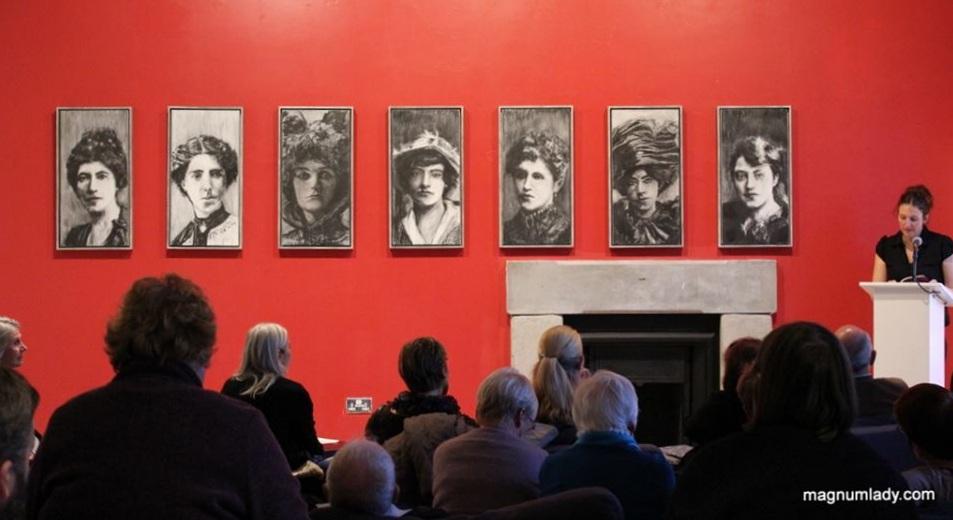 Artist's Talk at The Model, Sligo - Photography Val Robus 2014